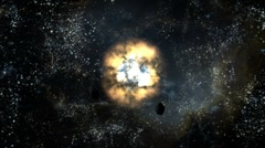 Interstellar Cosmos - stock footage
