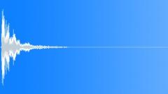 Large Deep Dark Metal Impact Sound Effect