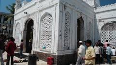 Mumbai Haji Ali Dargah 8 Stock Footage