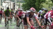 Stock Video Footage of Bicycle Race Slow Motion