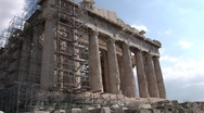 Stock Video Footage of Acropolis in Athens