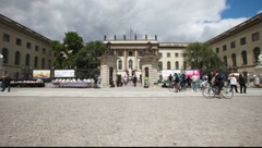 Humboldt University, Berlin Stock Footage