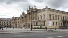 Chest of the Humboldt University, Berlin, law school Stock Footage