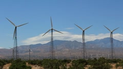 Wind mills Stock Footage