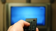 HD - TV channel surfing Stock Footage