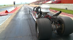 Motorsports, Drag racing 2011 season #20, 2-seater dragster launch - stock footage