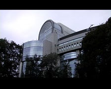 european union parliament - stock footage
