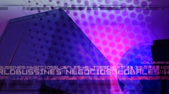 Corporate Background 004 HD Stock Footage