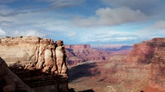 Amazing rock structures at canyonlands utah usa Stock Footage