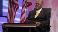 "Stock Video Footage of Presidential Candidate Herman Cain - ""Against the Odds"" speech"