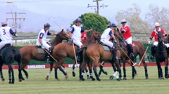 START OFPOLO MATCH Stock Footage