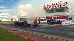 Motorsports, Drag Racing 2011 kausi # 24, jet auton rodun Arkistovideo