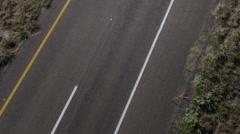 Road Cruise Perspective Loop FULL HD Stock Footage