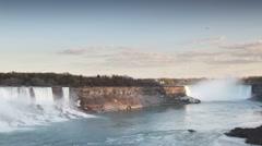 Niagara falls usa canada 4k Stock Footage