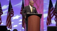 Stock Video Footage of Presidential Candidate Herman Cain - Opening Remarks