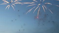 Fireworks - stock footage
