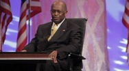"Stock Video Footage of Presidential Candidate Herman Cain - ""The Federal Reserve Audit"" speech"