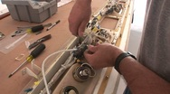 Stock Video Footage of Wiring