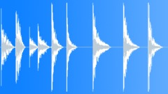 Metal surface medium hits - sound effect