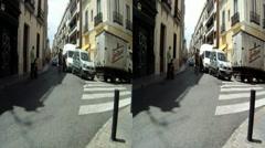 Sevilla city street 3D HD.mp4 Stock Footage