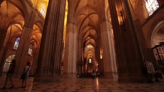 Sevilla Cathedral P HD 9818 Stock Footage
