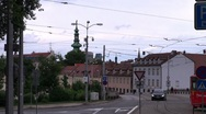 Stock Video Footage of Urban landscape in Bratislava