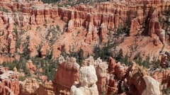 Rock structures at bryce canyon utah usa Stock Footage