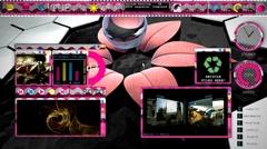 OS Display (HD+Loop) Stock Footage