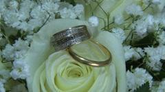 Wedding Ring Stock Footage