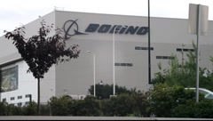 Boeing Inc. Building Stock Footage