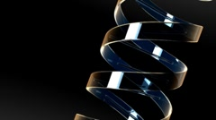 Glass DNA (HD+Loop) Stock Footage