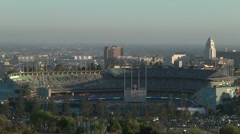 Dodgers Stadium Sunset TimeLapse Stock Footage