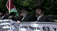 Stock Video Footage of Jews who support Palestine