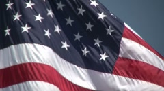 Memorial Day - Telephoto Stock Footage
