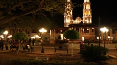 Night in Campeche - stock footage