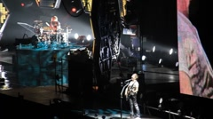 concert muse - stock footage