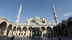 Blue Mosque in Istanbul, Turkey - stock footage