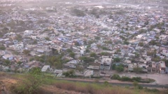 Bundi town in Rajasthan during early morning Stock Footage