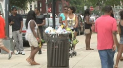 African Americans in Washington, D.C. Stock Footage