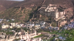 Majestic fort in Rajasthan Stock Footage