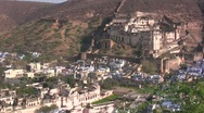 Stock Video Footage of Majestic fort in Rajasthan
