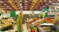 Stock Video Footage of Food Market