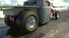 Motorsports, Drag Racing 2011 season #53, rat Rod Burnout Stock Footage