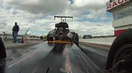 Stock Video Footage of Motorsports, Drag Racing 2011 season #86, on board altered run