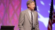 Stock Video Footage of Candidate Gary Johnson speaking about the Iraq War