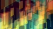 Stock Video Footage of geometric aurora