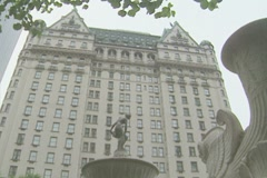 Plaza Hotel New York Stock Footage