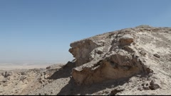 Al Ain Mountain Stock Footage