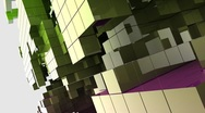 Stock Video Footage of Cubism One (HD)