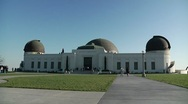 Stock Video Footage of Griffith Observatory 0070NL